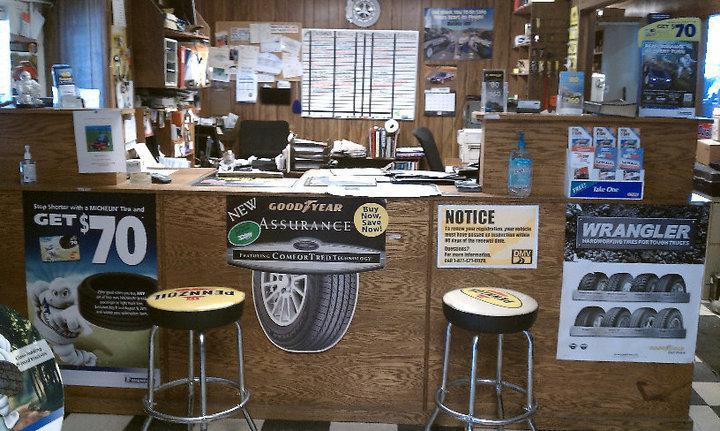 Our Front Desk | Clayton Tire and Muffler Center, Inc
